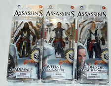 ASSASSIN'S CREED SERIES 2 FIGURES AVELINE DE GRANDPRE CONNOR WITH MOHAWK ADEWALE