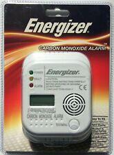 ENERGIZER DIGITAL DISPLAY CARBON MONOXIDE ALARM CO DETECTOR 7 YEAR LIFE - NEW UK