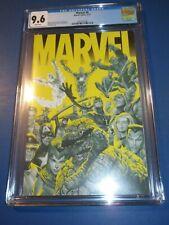 Marvel #6 Alex Ross Cover CGC 9.6 NM+ Beauty Avengers