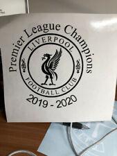 Liverpool FC League Champions vinyl decal sticker football premier league champi