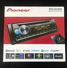 PIONEER DEH-S6120BS CD Receiver AUX USB EQ Dual Phone Bluetooth 3RCA Preouts NEW