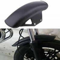 33cm Chrome Black Metal Motorcycle ATV Front Fender Mudguard Mug Guard Cover Kit