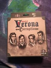 Council of Verona Corruption Expansion Deck CrashGamesAZ NEW 2015