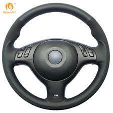 Suede Steering Wheel Cover for BMW E46 E39 540i 330i 525i M3 2001-2003 #BM118