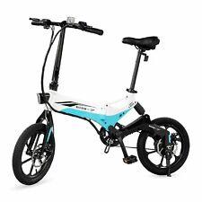 "Swagcycle EB7 16"" Commuter Folding Electric Bike Lithium-ion Battery 350W E-bike"