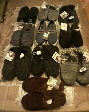 Lot of 9 Muk Luks Men's Slippers And 1 Pair of Muk Luks Men's Shoes - GallyHo