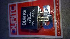 Duralite RELAY 0-728-24 24 Volt 10/20 Amp