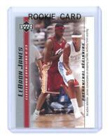 2003 Upper Deck Phenomenal Beginning #9 Lebron James Active D Rookie Card
