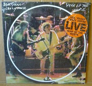 NEIL YOUNG & CRAZY HORSE Year Of The Horse 2LP REPRISE 1997 EU orig 9362-46652-1