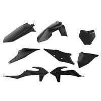 Polisport Plastic Kit Black KTM SX SXF XC XCF 125 150 250 300 350 450 2019-2020