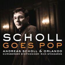 ANDREAS SCHOLL - ANDREAS SCHOLL GOES POP  CD 14 TRACKS KLASSIK/POP  NEW+