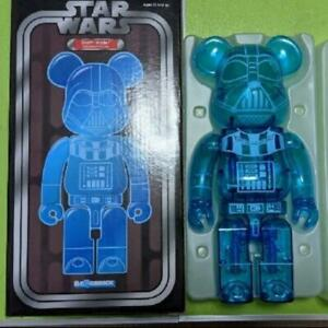 """Bearbrick 400% Darth Vader Holographic Ver. Star Wars Be@rbrick """"New"""" From Japan"""