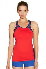FREYA ACTIVE RACING RED UNDERWIRE PERFORMANCE SPORTS BRA / TOP SIZE 30F / 8F NEW