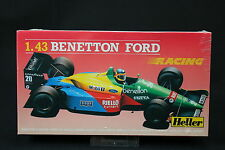 YS042 HELLER 1/43 maquette voiture 80103 Benetton Ford racing F1 grand prix 1989
