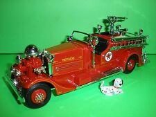 Texaco 1937 Ahrens Fox Pumper - #1 Fire Truck Series - New - Mint In Box