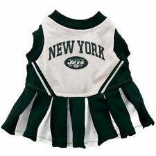 New York Jets Cheerleader Pet Outfit Size Small