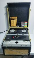 Vintage 1956 Pentron Peacemaker Model T-90 Reel to Reel Tape Recorder USA Made
