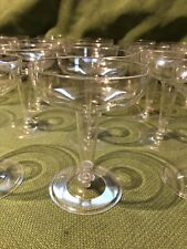Plastic Champagne Glasses Clear Disposable Cups Wedding Party Cocktail 36 Count