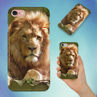 LION HARD BACK CASE FOR APPLE IPHONE PHONE