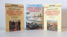 LURAGHI R. STORIA DELLA GUERRA CIVILE AMERICANA  2 vol cofanetto - 1994 Rizzoli