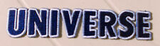 UNIVERSE Cycles Iron- On Embroided  Name Label  FREE POSTcollectable130mm x 28mm