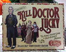 Button Men Doctor J Robert Lucky Promo Card Kill Doctor Lucky Cheapass Games