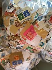More details for 1kg bag of used uk postage stamps, random bag, kiloware