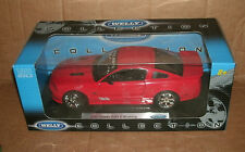 1/18 Scale 2007 Saleen S281 E Ford Mustang Model Car Extreme Red - Welly 12569w