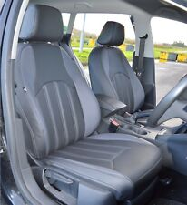 SEAT Leon MK3 Tailored Leather Look Waterproof Car Seat Covers 2013 - Present
