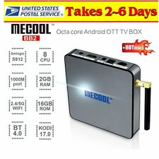 2017 MECOOL BB2 Amlogic S912 Octa Core 2GB/16GB Android 6.0 TV Box Dual WIFI USA