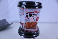 Topokki Korean Rice Cake Instant 10oz Spicy & Sweet Sauce Korean Snack Pack of 4