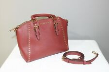 Michael Kors Reddish Gold Studded Tote Bag