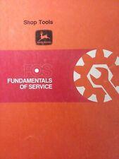 John Deere Fos 51 Shop Tools Agricultural Lawn Garden Tractor Service Manual