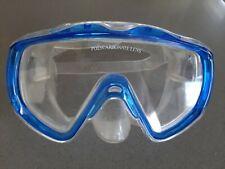 Vintage Unbranded Swim Diving Mask Polycarbonate Lens Snorkel Scuba No Reserve