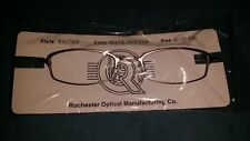 ROCHESTER OPTICAL ENCORE PEWTER SPECTACLE FRAME EYEGLASSES 45-18-140 OPTOMETRY