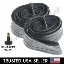 """2 x 26"""" inch Inner Bike Tube 26 x 1.75 - 2.125 Bicycle Rubber Tire Interior BMX"""