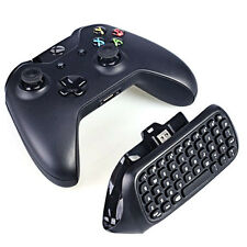 2.4G Black Mini Wireless Message Keyboard Chatpad Keypad for Xbox One Controller