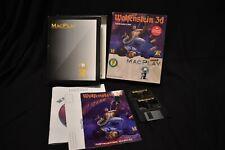 """Wolfenstein 3D Macintosh (1994) on 3.5"""" Floppies Complete in Box CIB Vintage"""