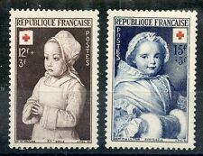 STAMP / / TIMBRE DE FRANCE NEUF N° 914/915 ** CROIX ROUGE 1951