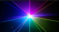 RGB show láser sistema 2000 MW analógico con 637 nm rojo y 30 kpps
