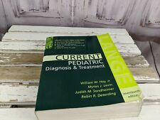 Current Pediatric Diagnosis and treatment 17th softcover medical book textbook