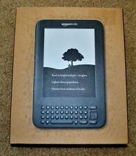 "* NEW * Amazon Kindle Wifi Keyboard 4GB 6"" Display Graphite in SEALED Retail box"
