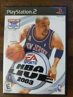 USED (Complete) - NBA Live 2003 (Sony PlayStation 2, 2002) - Free Shipping