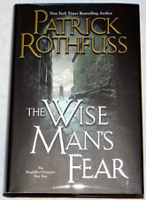 Patrick Rothfuss SIGNED LINED Wise Man's Fear, HC 1st Edition, 9th Print VF