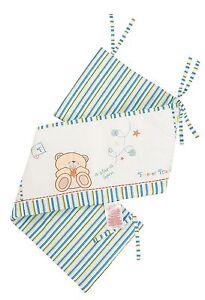 Luxury Forever Friends 'Little star' baby Boy Nursery Cot Bumper