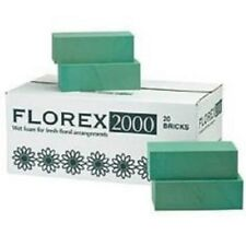 FLOREX WET FLORISTY FOAM FOR FRESH FLOWERS BOX OF 20 OASIS BRICKS TOP QUALITY