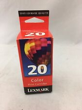 Lexmark 20 Color Print Cartridge 15M0120