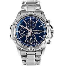 Seiko Solar Stainless Steel Case Wristwatches for Men