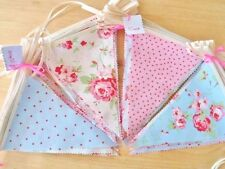 Bunting Wedding Party Vintage Decorations Cath Kidston Fabric Rustic Barn 20FT