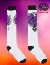New The Nightmare Before Christmas Jack Skellington Disney Knee High Socks